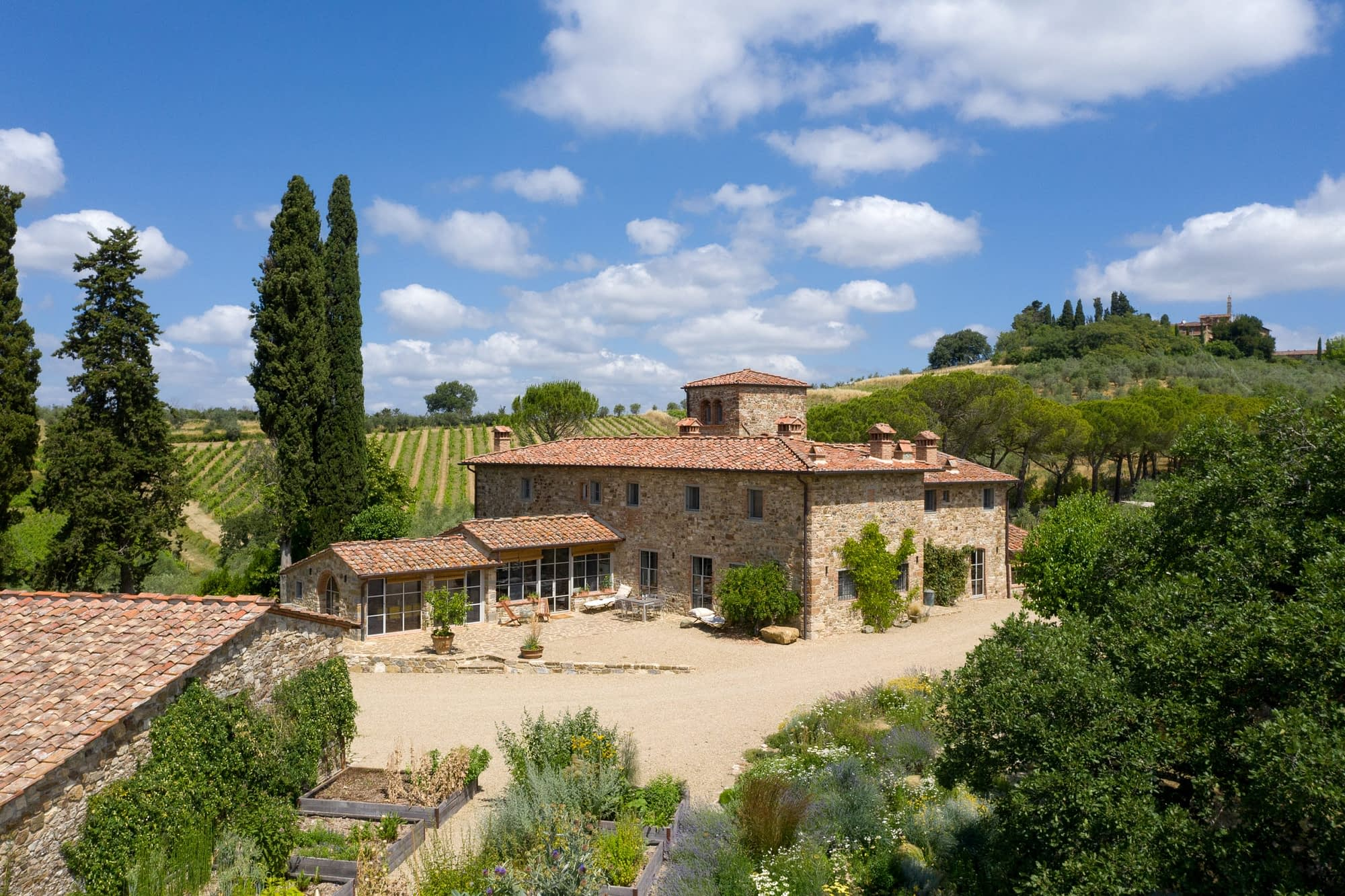 Luxury villa for rent in Tuscany Italy