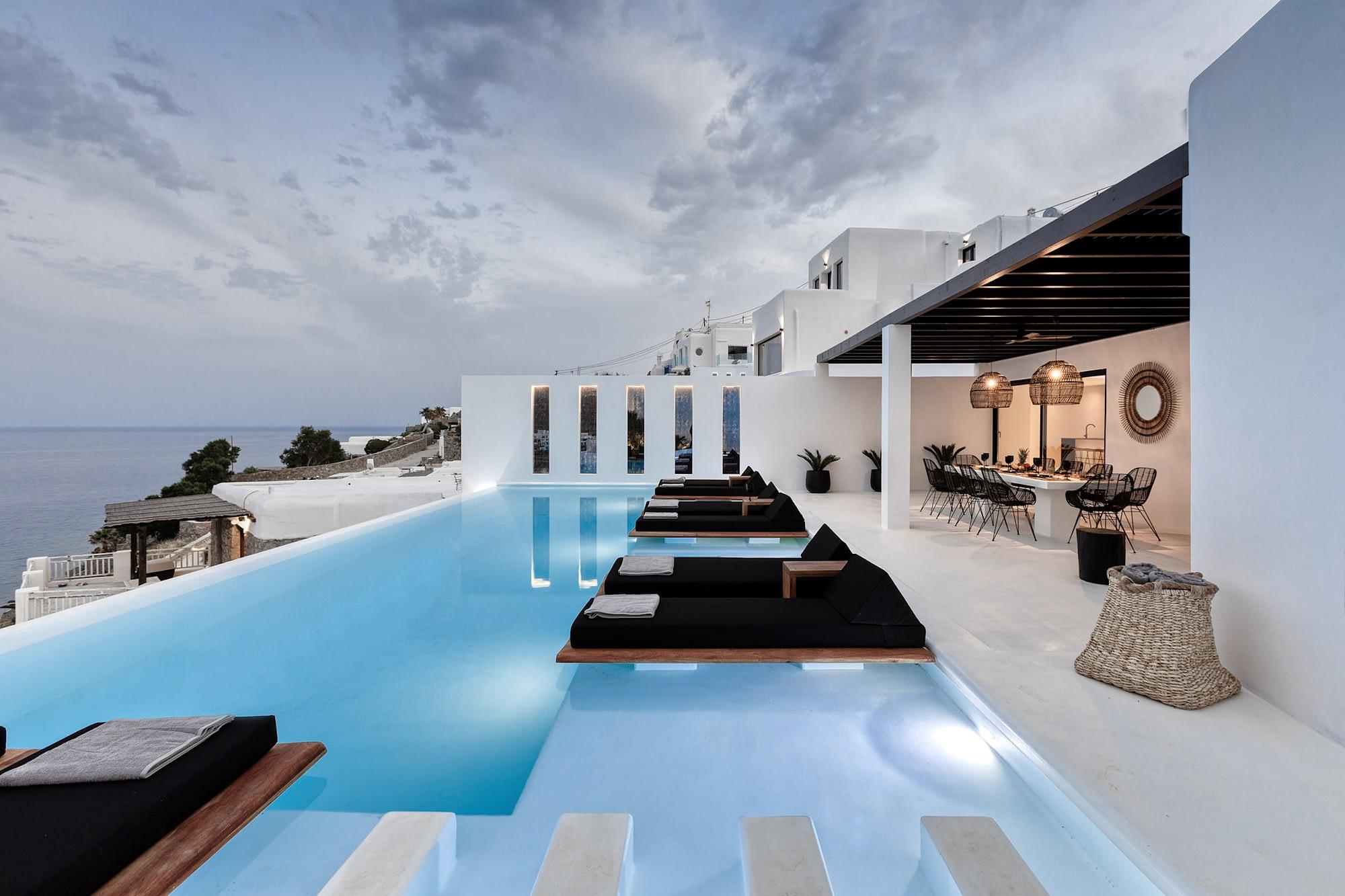 Luxury villa rental Mykonos