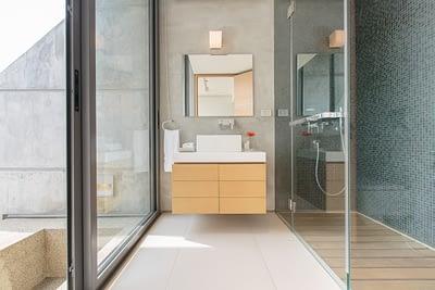 Bathroom 2 at villa 3, Samsara private estate, Kamala, Phuket, Thailand