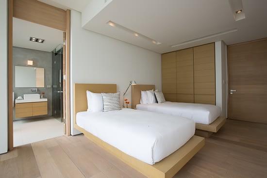 Bedroom 2 at villa 3, Samsara private estate, Kamala, Phuket, Thailand