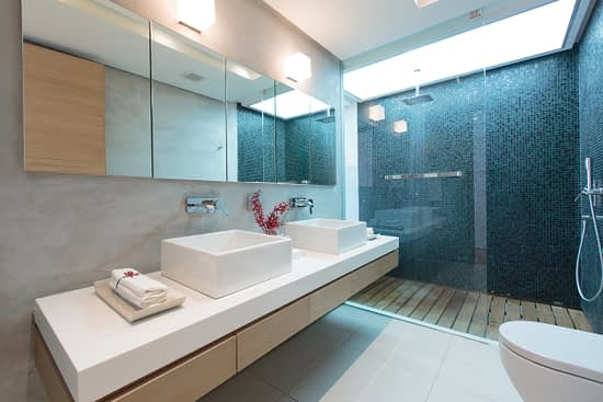 Bathroom 4 at villa 3, Samsara private estate, Kamala, Phuket, Thailand