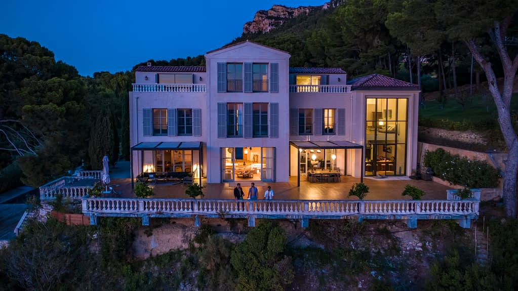 Ultra Luxury Seafront Villa in Cassis, South of France