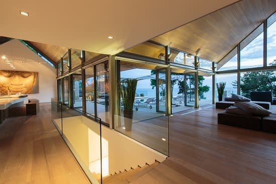 Living room at villa 3, Samsara private estate, Kamala, Phuket, Thailand